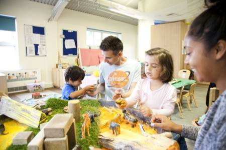 London Men in Childcare Network Richard Lester, Manager, LEYF Furze Childrens Centre Community Nursery 4