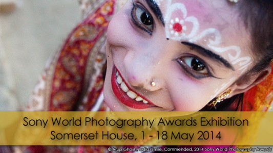 2014 Sony World Photography Awards Exhibition at Somerset House Arup-Ghosh