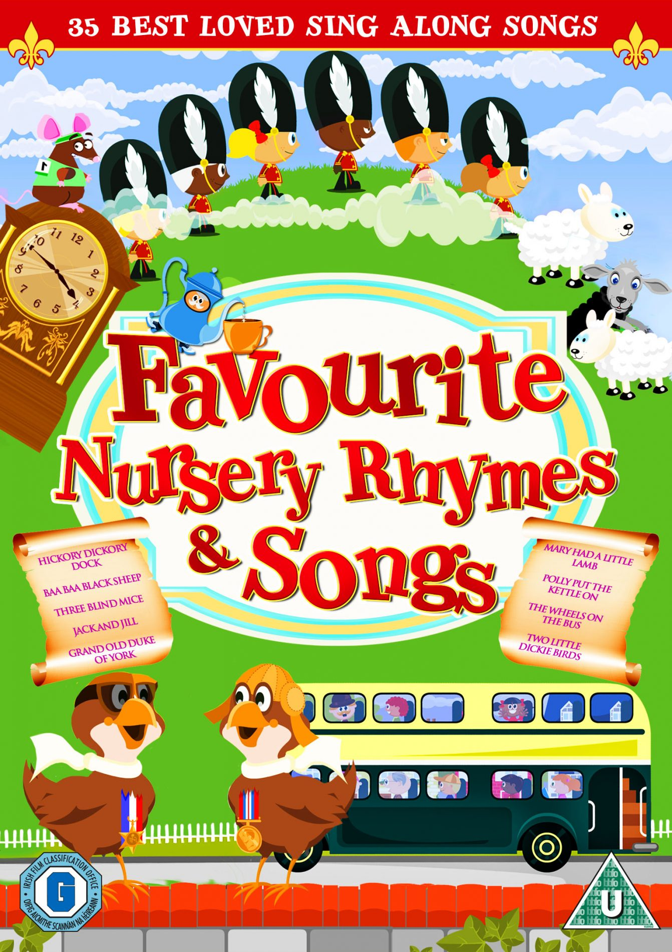 favorite nursery rhymes ten - 765×1081