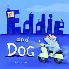 Eddie & Dog book by Alison Brown