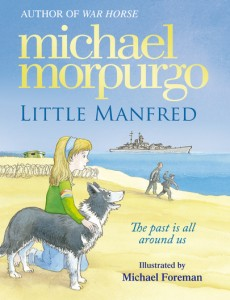 Little manfred dog story Michael morpurgo book