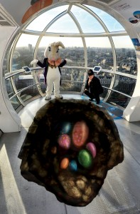 London Eye Easter Bunny 2014