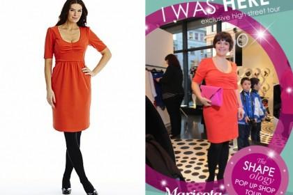 the little orange dress