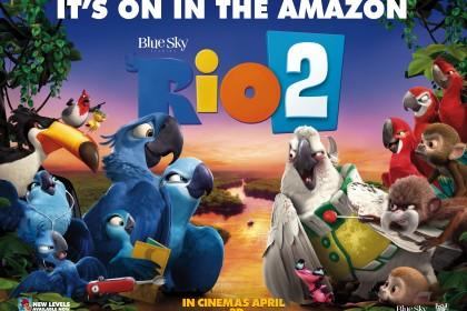 Rio 2 Camp D Quad poster london mums magazine film review