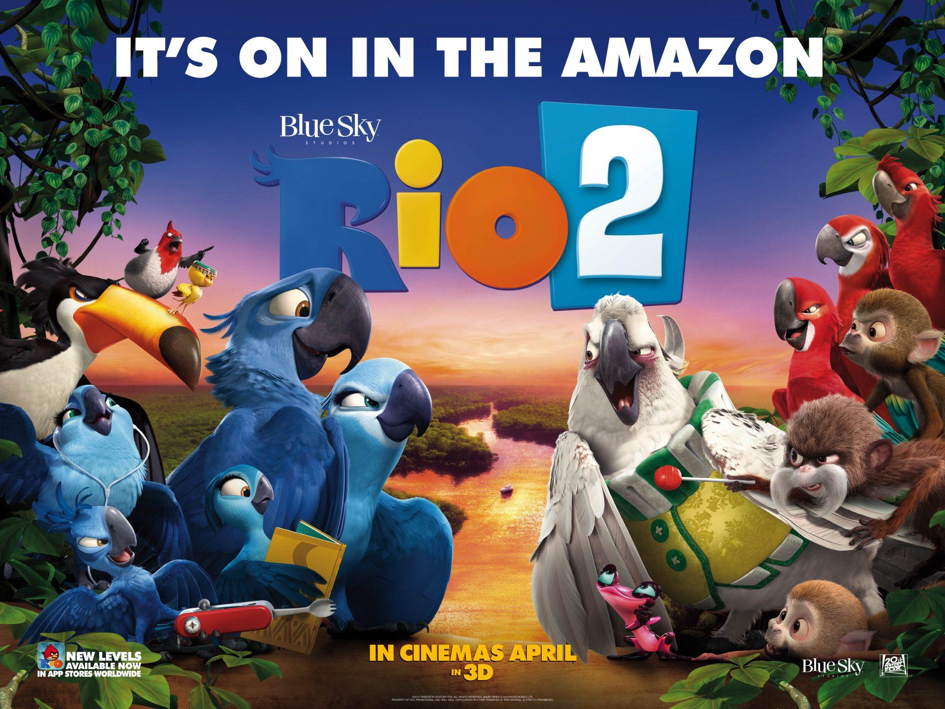 Film review: Rio 2 - London Mums Magazine