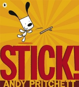Stick! by Andy Pritchett dog book