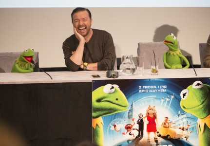 MUPPETS MOST WANTED UK PRESS CONFERENCE