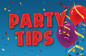 party tips for organising children's birthday