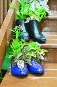 Gardening Lab for Kids Shoe Garden Project