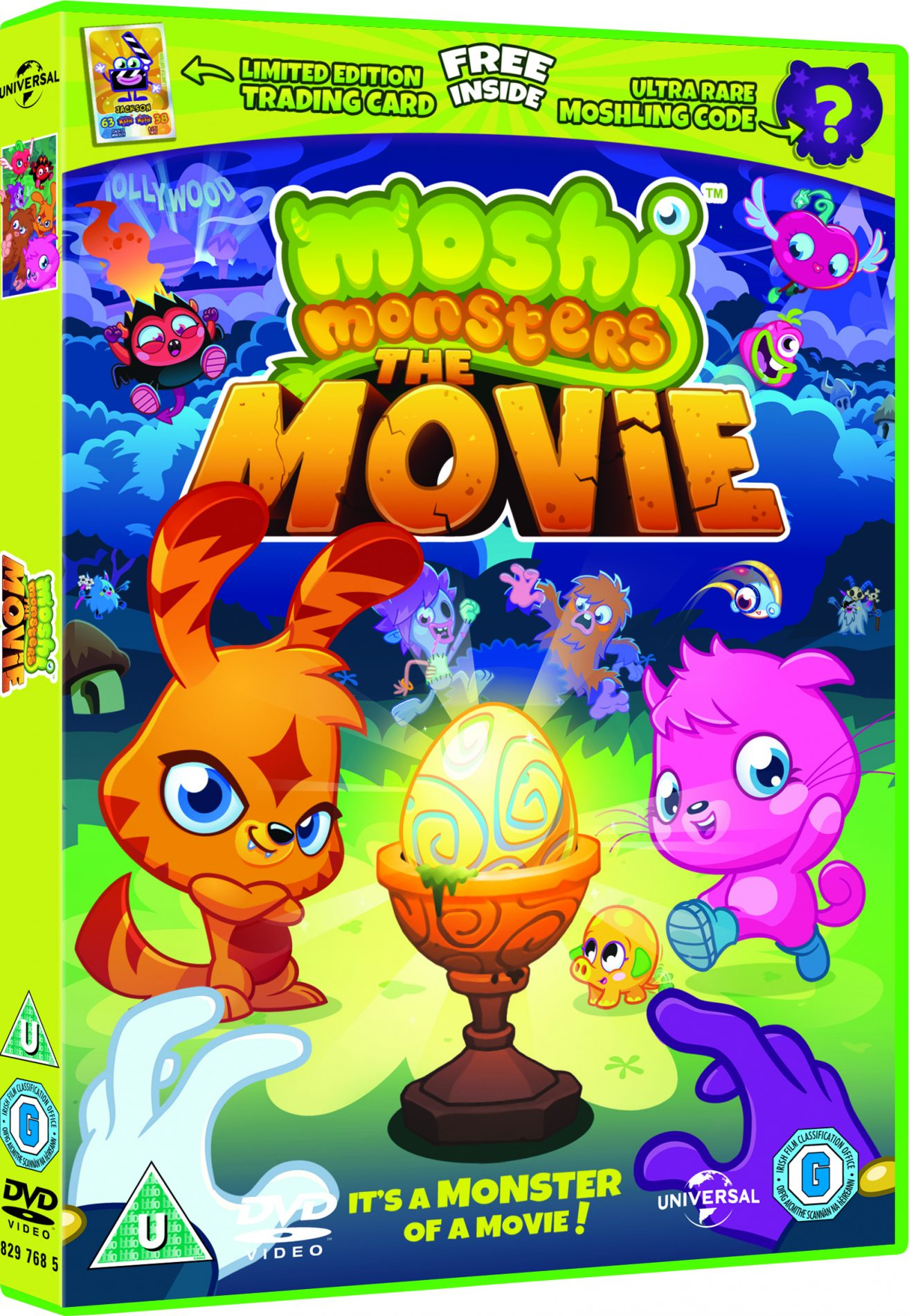 Win 1 of 3 copies of Moshi Monsters™ The Movie DVD - London