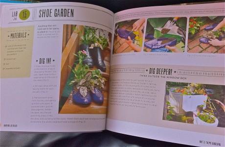 gardening lab for kids book london mums magazine Spring activities with kid shoe garden