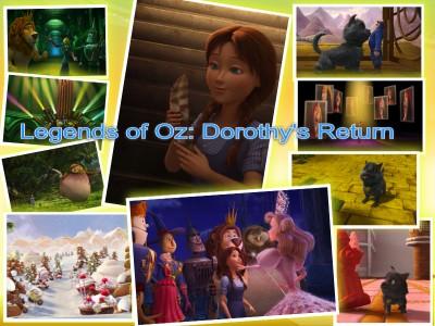 Legends of Oz- Dorothy's Return collage