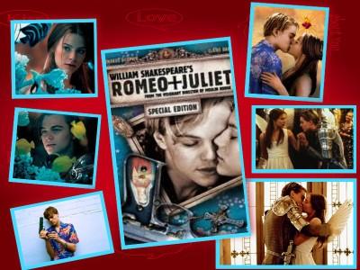 romeo+juliet collage