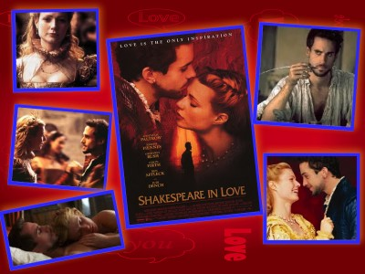 shakespeare in love collage