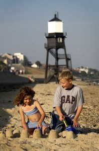 Great School Holiday Ideas From Visit Essex Dovercourt beach boy and girl r