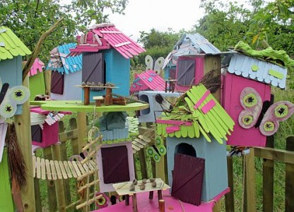 Great School Holiday Ideas From Visit Essex Great Garden Quest - Pixie Houses r