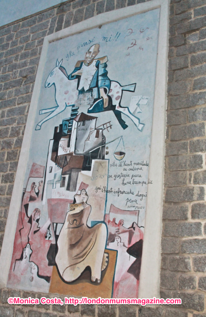 Orgosolo murales Sardinia travel with kids London Mums magazine 10