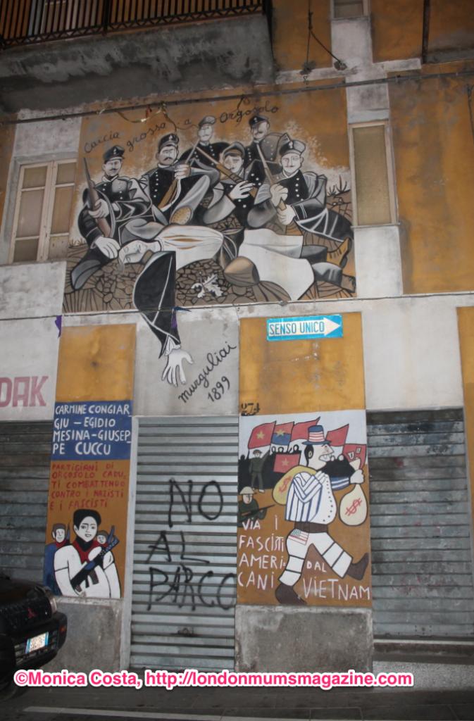 Orgosolo murales Sardinia travel with kids London Mums magazine 11