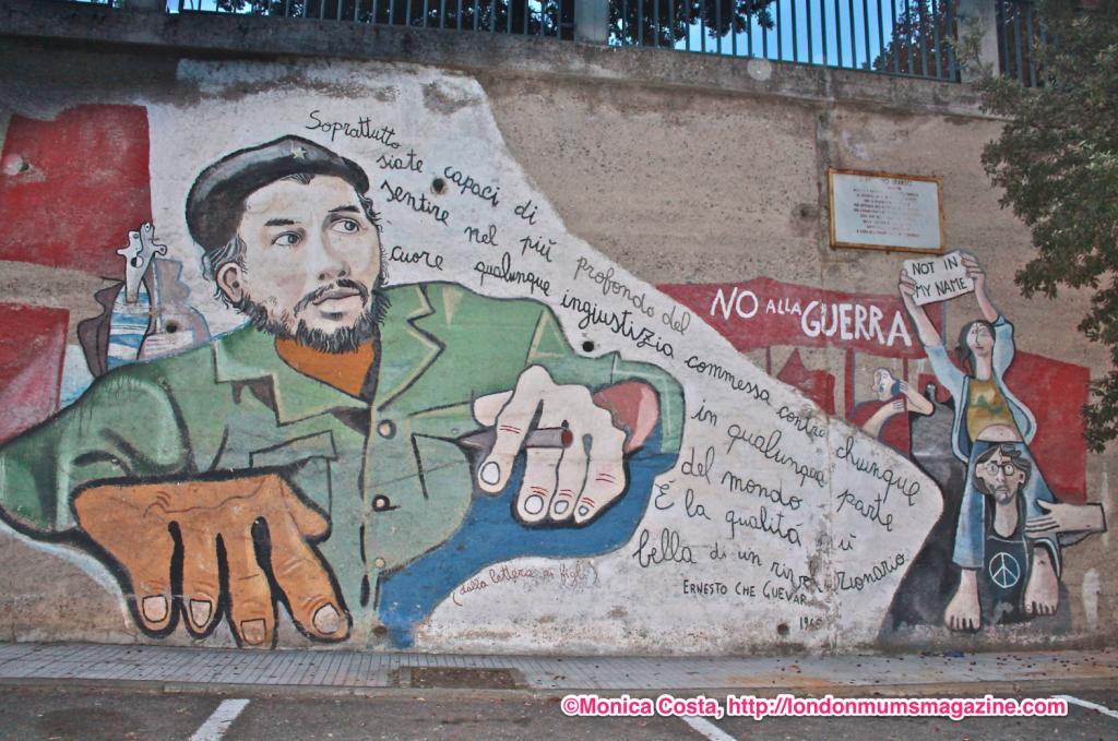 Orgosolo murales Sardinia travel with kids London Mums magazine 15