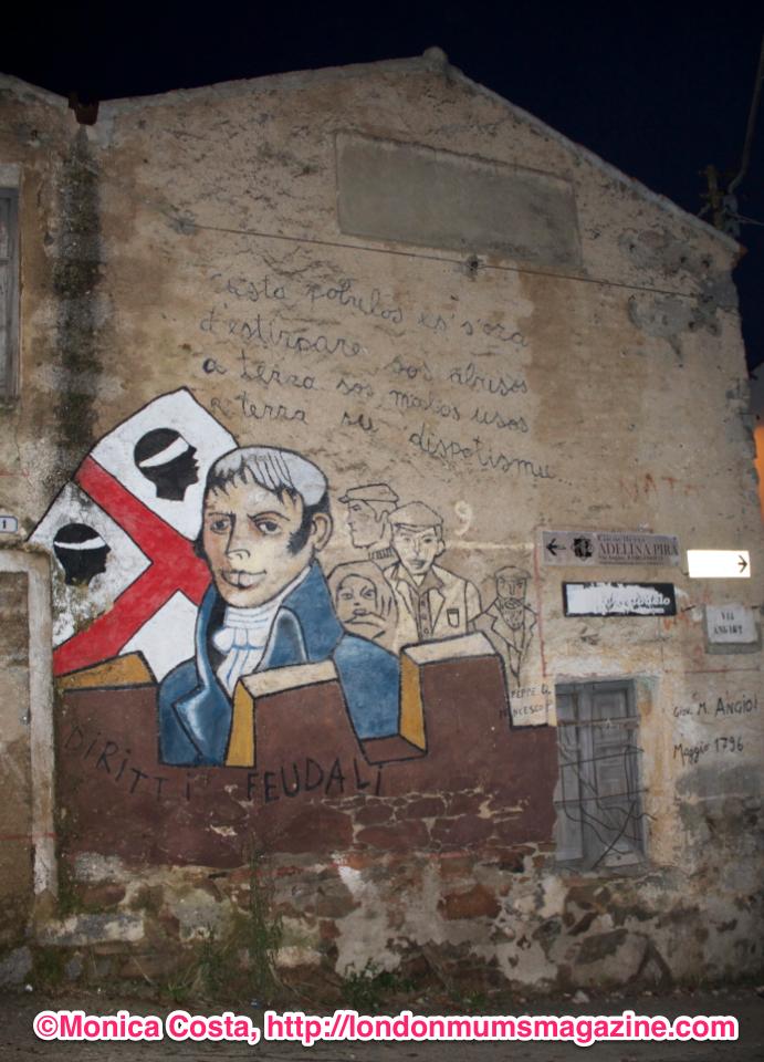 Orgosolo murales Sardinia travel with kids London Mums magazine 2