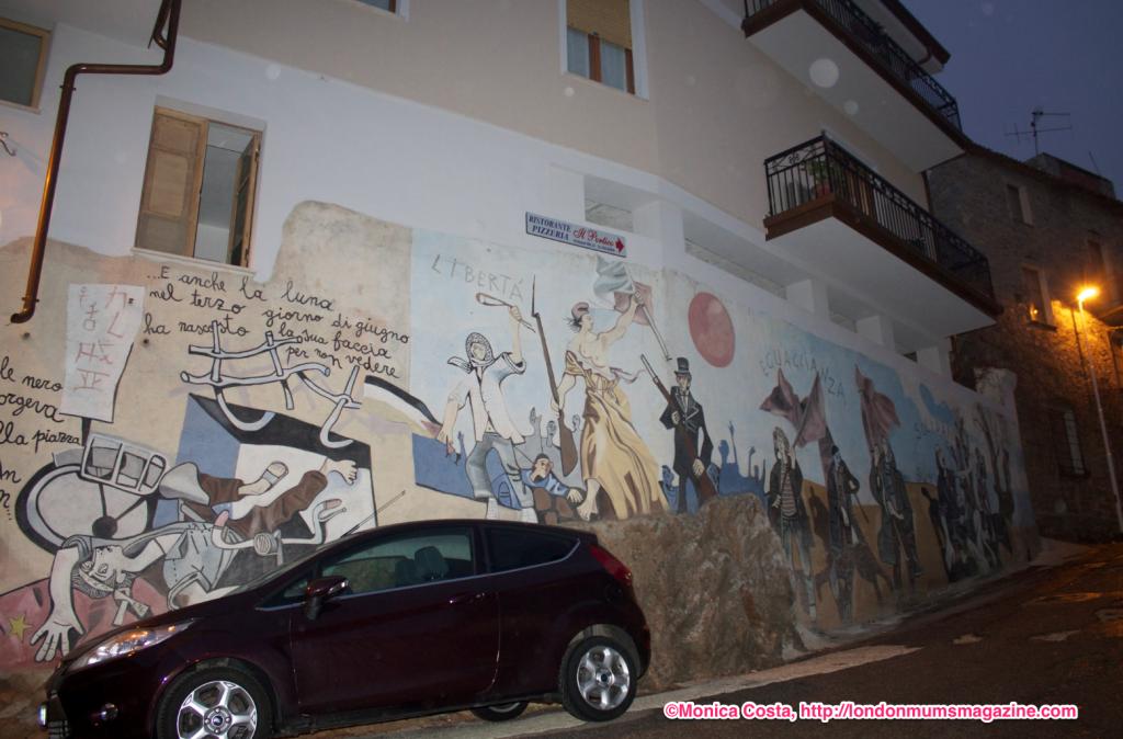 Orgosolo murales Sardinia travel with kids London Mums magazine 20
