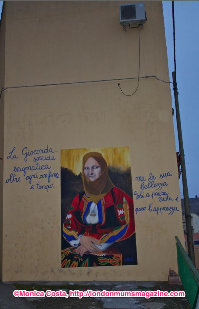 Orgosolo murales Sardinia travel with kids London Mums magazine 24