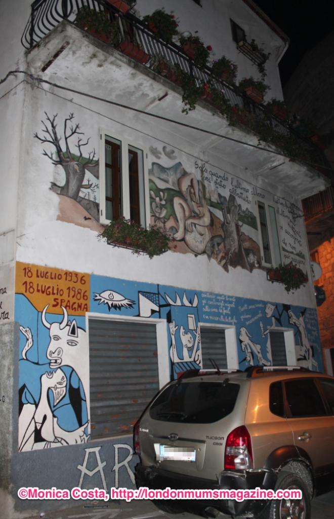 Orgosolo murales Sardinia travel with kids London Mums magazine 25