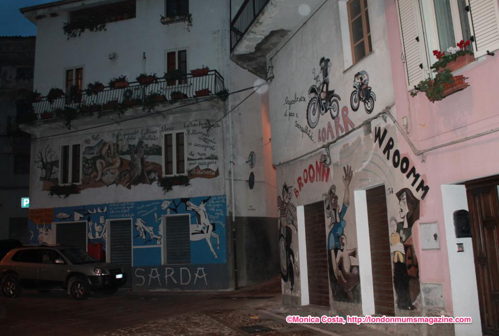 Orgosolo murales Sardinia travel with kids London Mums magazine 26