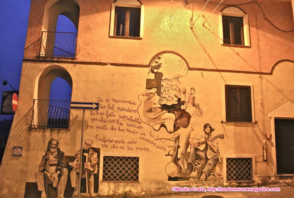 Orgosolo murales Sardinia travel with kids London Mums magazine 27