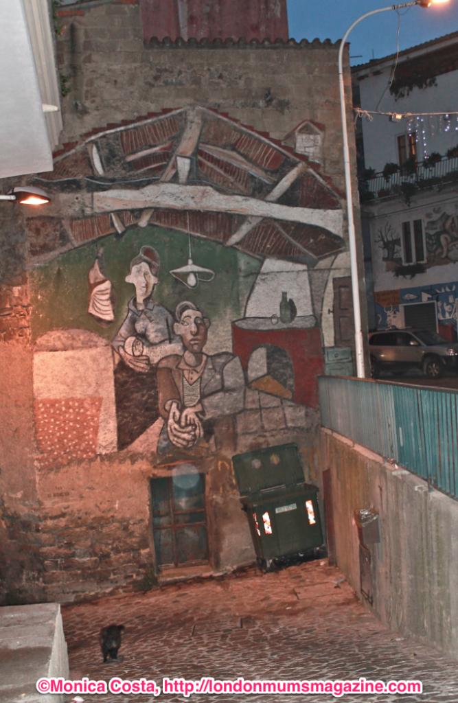 Orgosolo murales Sardinia travel with kids London Mums magazine 28