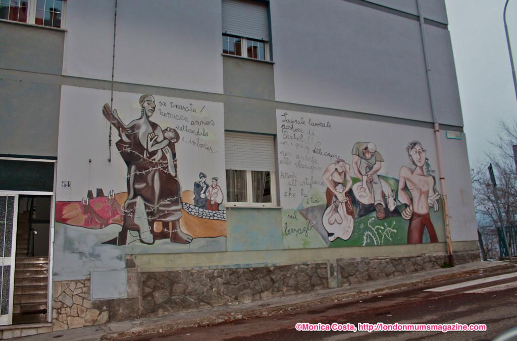 Orgosolo murales Sardinia travel with kids London Mums magazine 29