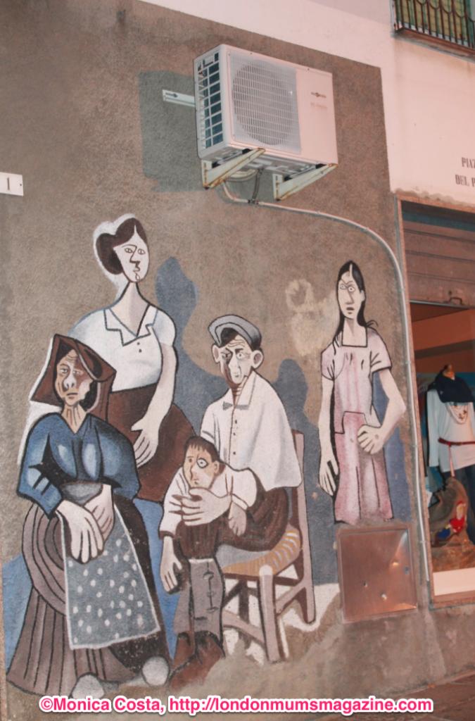 Orgosolo murales Sardinia travel with kids London Mums magazine 30