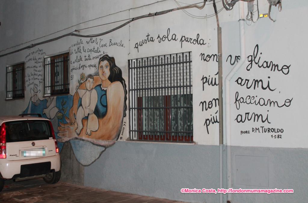 Orgosolo murales Sardinia travel with kids London Mums magazine 35