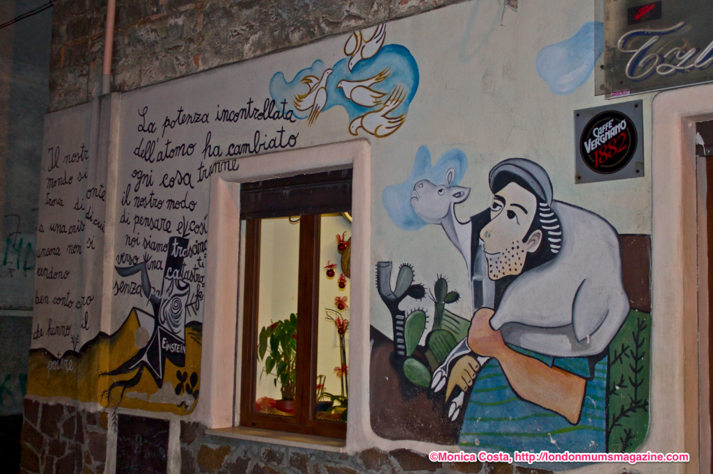 Orgosolo murales Sardinia travel with kids London Mums magazine 37