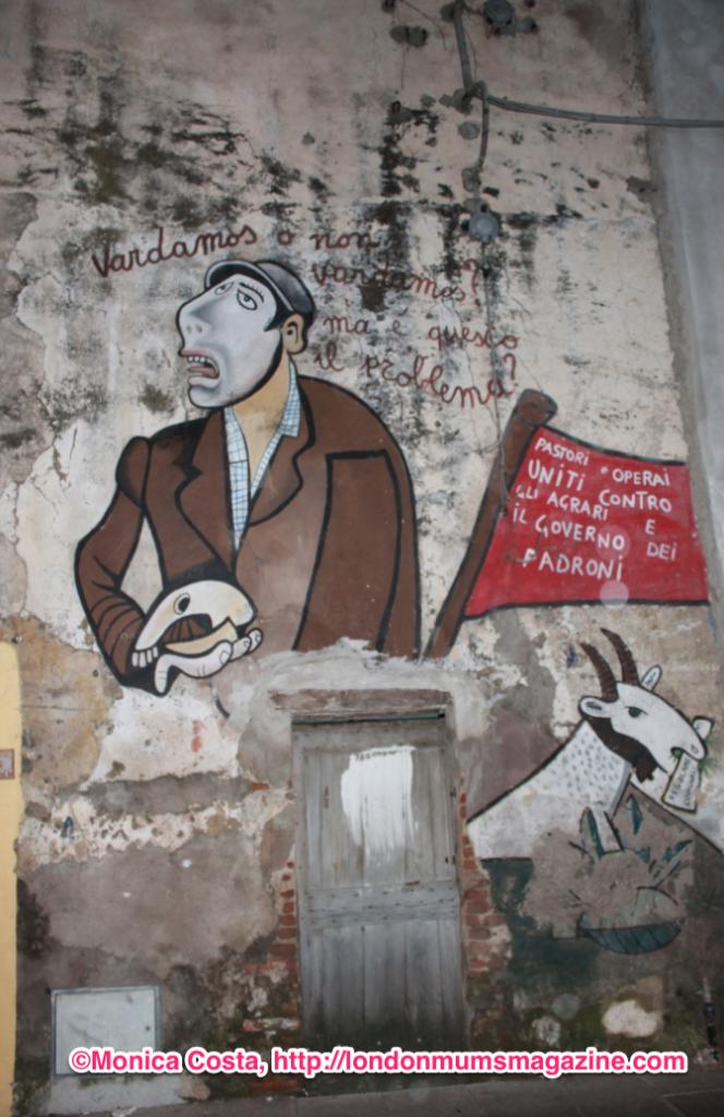Orgosolo murales Sardinia travel with kids London Mums magazine 38