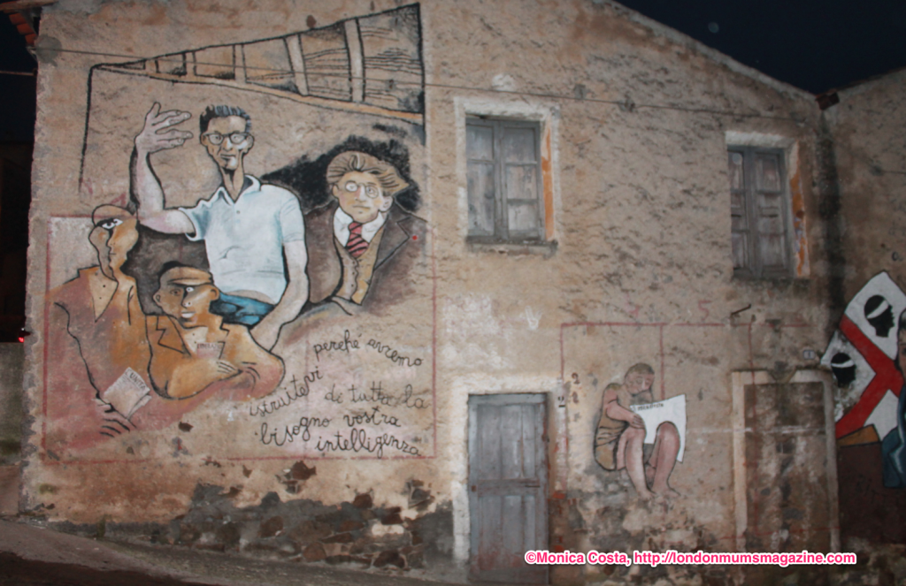 Orgosolo murales Sardinia travel with kids London Mums magazine 42