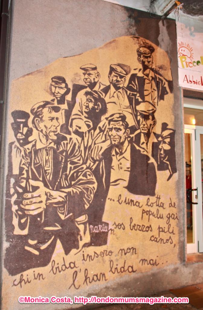 Orgosolo murales Sardinia travel with kids London Mums magazine 43