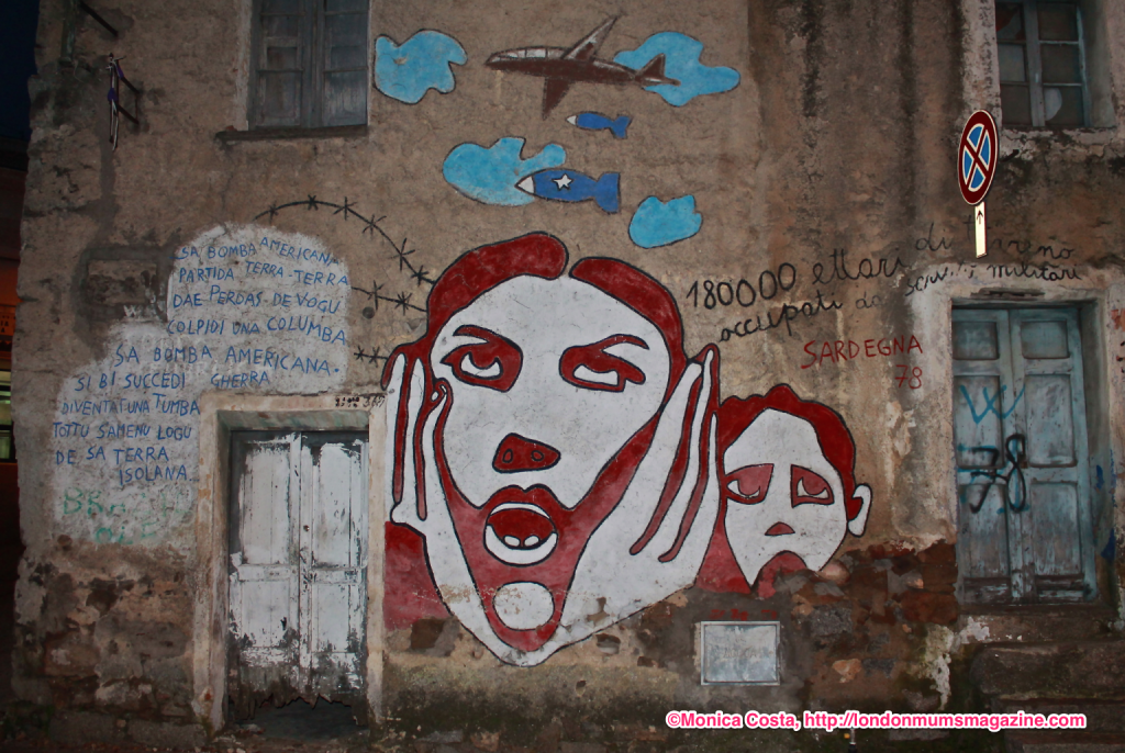 Orgosolo murales Sardinia travel with kids London Mums magazine 44