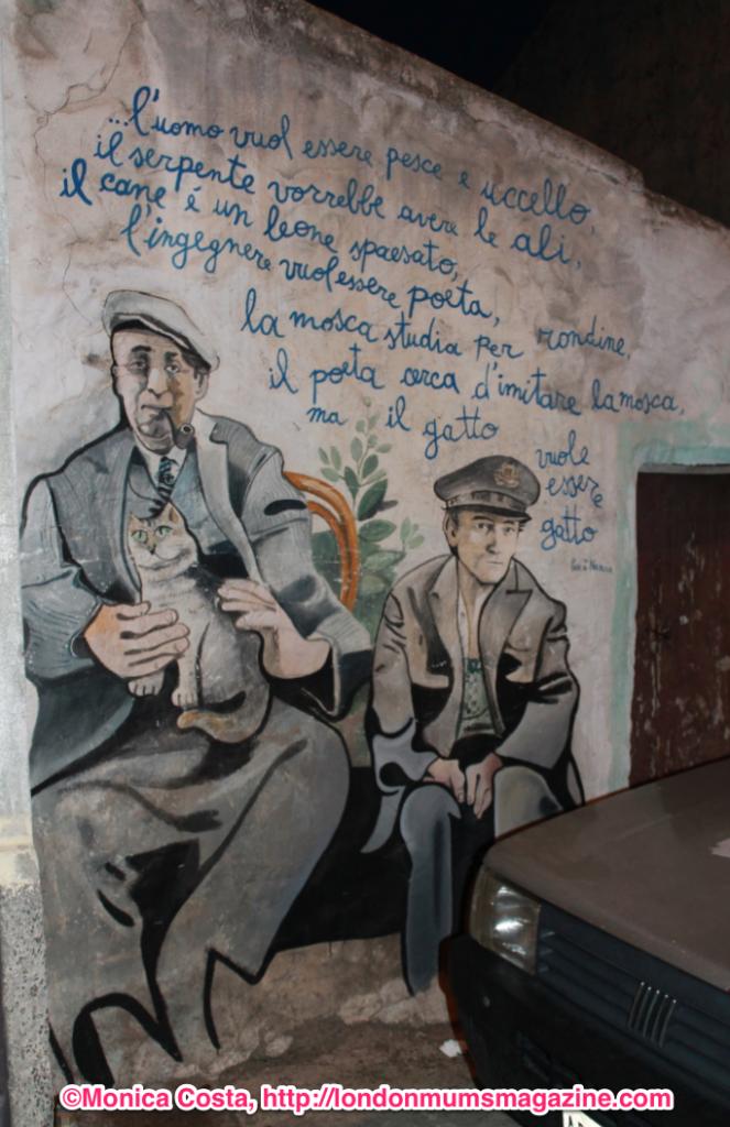 Orgosolo murales Sardinia travel with kids London Mums magazine 49