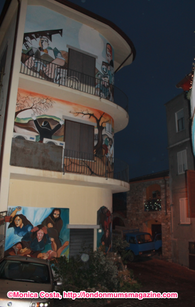 Orgosolo murales Sardinia travel with kids London Mums magazine 7