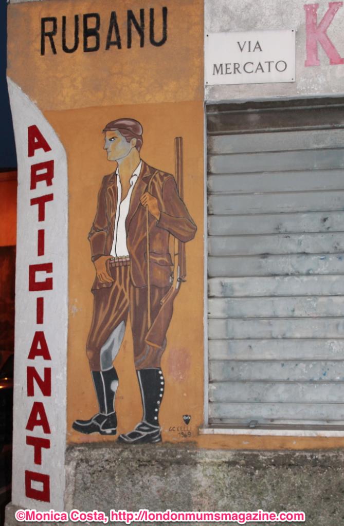 Orgosolo murales Sardinia travel with kids London Mums magazine 8
