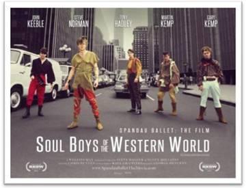 SPANDAU BALLET film poster