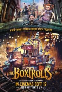 film boxtrolls One Sheet