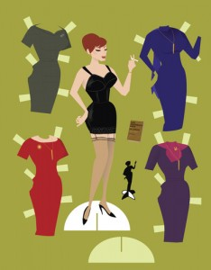 vintage fashion paper dolls