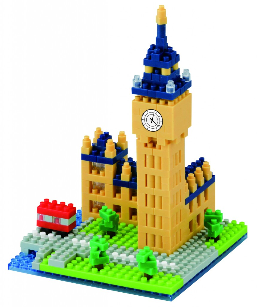 Big Ben nano blocks