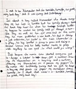 Disney Alexander film review Chiara