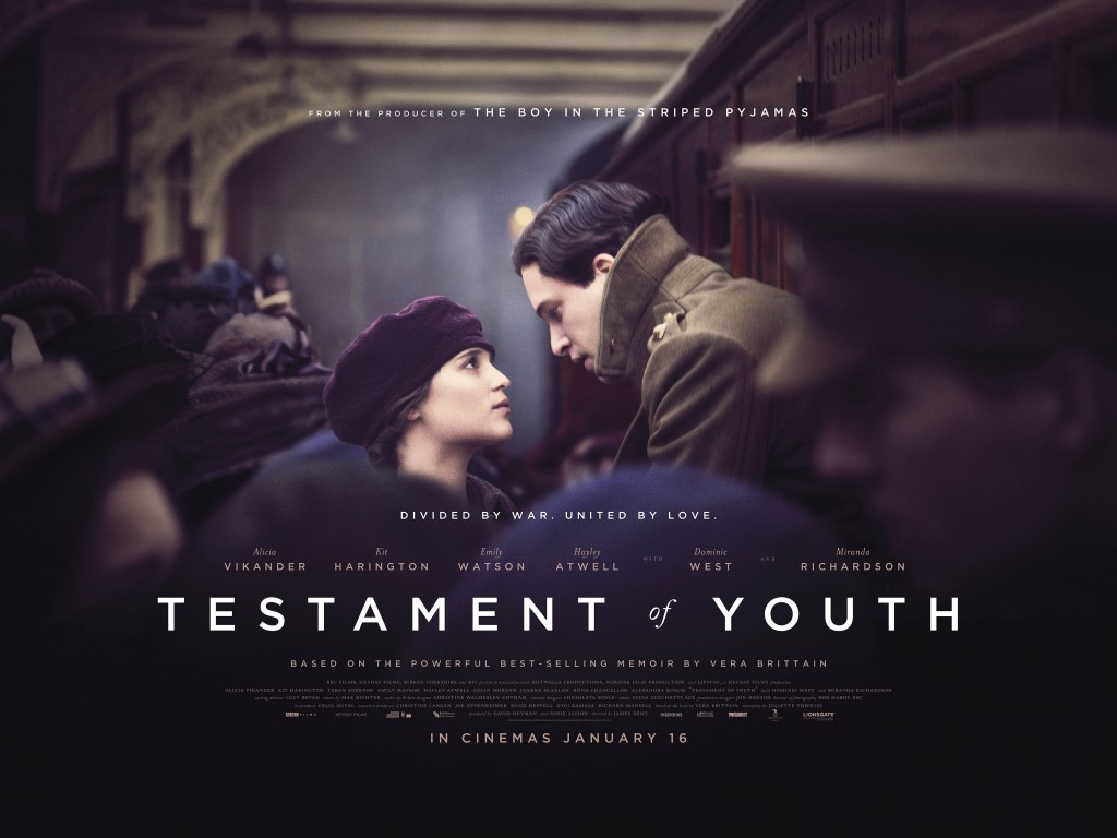 FILM POSTER Quad_Testament Of Youth