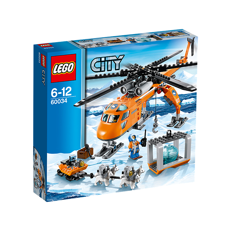 Lego City Artic Helicrane asda offer