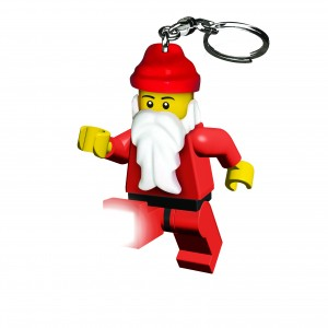 STOCKING FILLERS lego Santa key ring
