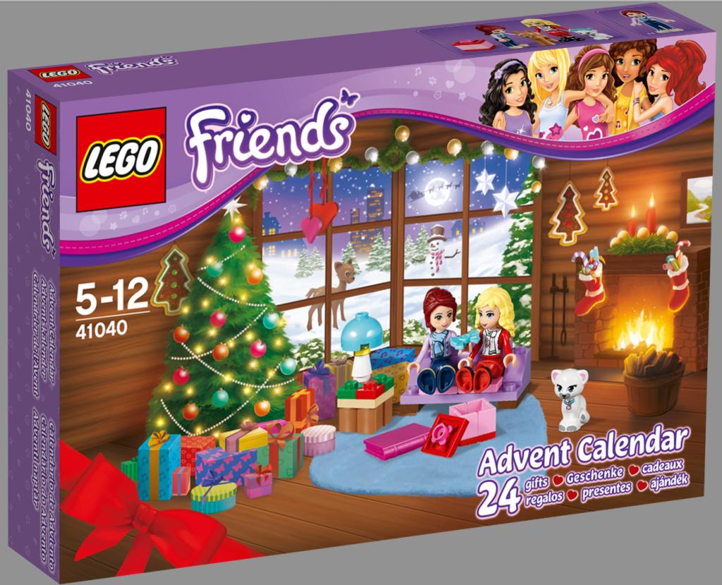 Lego Friends Advent Calendar Christmas 2014
